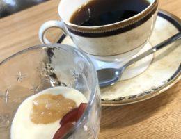 喫茶 レアさまで提供されるコーヒーです。